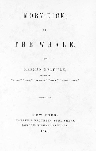 Original Cover of The Whale