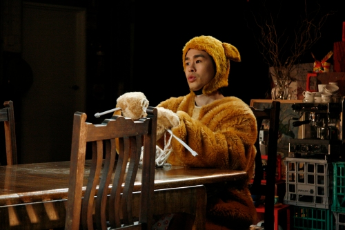 Gareth Yuen as the Apocalypse Bear